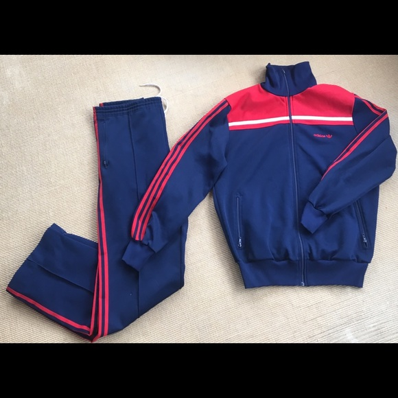 Adidas Jackets Coats Vintage Track Suit Jacket 80s Trefoil M